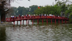 Hanoi Lake Bridge