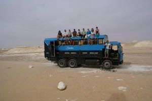 Kumuka Egypt Group With Truck