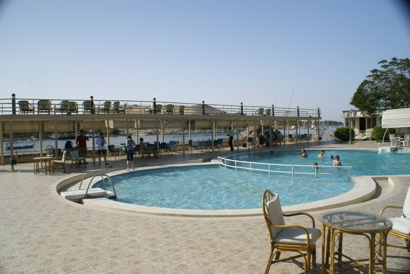 Isis Hotel Swimming Pool - Aswan