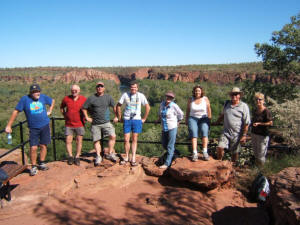 Bundy Jabiru Group at Lawn Hill Gorge