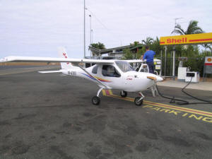 Fuel Stop at Emerald, QLD
