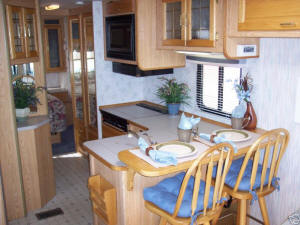 Kitchen Area in USA RV